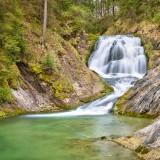 Wasserfälle zwischen Wallgau und dem Walchensee