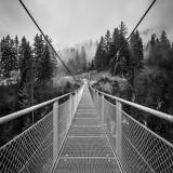 Hängebrücke über die Faukenschlucht