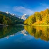 Riessersee im Herbst