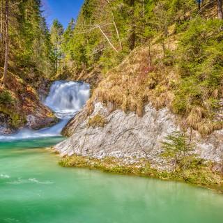 Wasserfälle bei Wallgau
