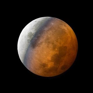 Mondfinsternis am 28. September 2015