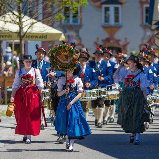 Festzug Mittenwald (Bataillonsfest der Gebirgsschützen)