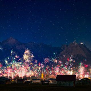 Silvesterfeuerwerk Garmisch-Partenkirchen 2016/2017