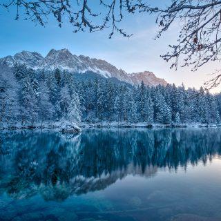 Badersee + Grainau im Winter