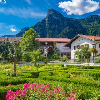 Oberammergau im Sommer