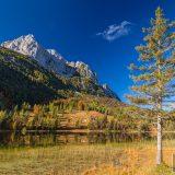 der Ferchensee im Herbst