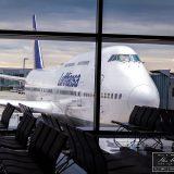 mit einer 747-400 von Frankfurt nach Berlin
