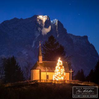Weihnachten unter der Zugspitze