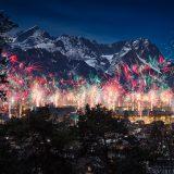Silvesterfeuerwerk Garmisch-Partenkirchen 2017/2018