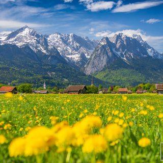 Unterfeld im Frühling