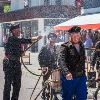 Festumzug 150 Jahre Feuerwehr Garmisch