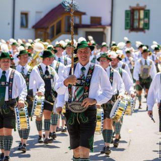 125 Jahre Trommlerzug Partenkirchen